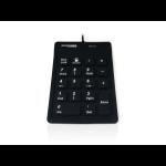 Accuratus AccuMed 100 numeric keypad USB Universal Black
