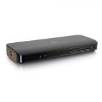 C2G 54429 notebook dock/port replicator Wired Thunderbolt 3 Black