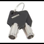 Urban Factory CRS99UF accesorio para candado de cable Llave Negro 2 pieza(s)