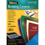 Fellowes Chromolux A4, 100pk A4 Plastic White 100pc(s) binding cover