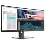 """DELL Professional P3418HW 34"""" 2560 x 1080 pixels WFHD LED Black, Gray"""