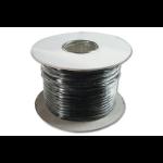 Digitus AK-460701-100-S telephony cable 100 m Black
