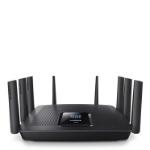 Linksys AC5400 Tri-band (2.4 GHz / 5 GHz / 5 GHz) Gigabit Ethernet Black wireless router