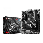 MSI B250 KRAIT GAMING Intel B250 LGA 1151 (Socket H4) ATX motherboard