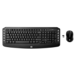 HP Wireless Classic Desktop RF Wireless Black