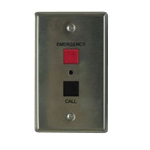 Valcom V-2970 audio intercom system Metallic