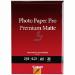 Canon Photo Paper Premium Matte papel fotográfico A4