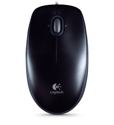 Logitech B110 mouse USB Optical 800 DPI Ambidextrous