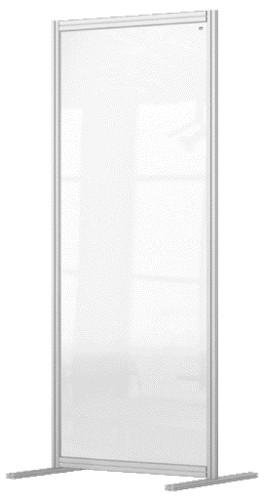 Nobo 1915516 magnetic board Grey, Transparent