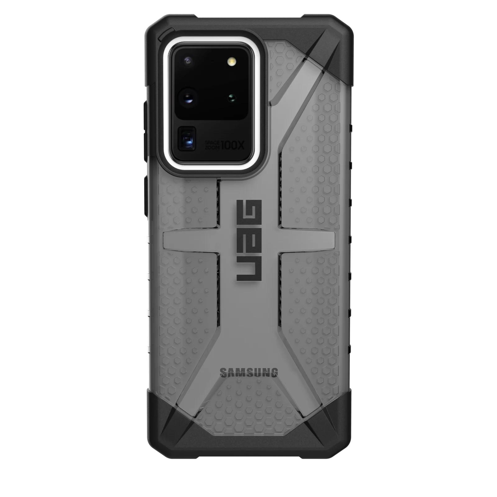 """Urban Armor Gear PLASMA SERIES funda para teléfono móvil 17,5 cm (6.9"""") Negro, Gris, Transparente"""