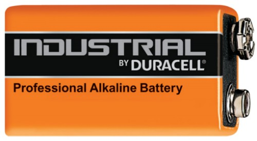 Duracell Industrial Single-use battery -, 9V Alkaline 9 V