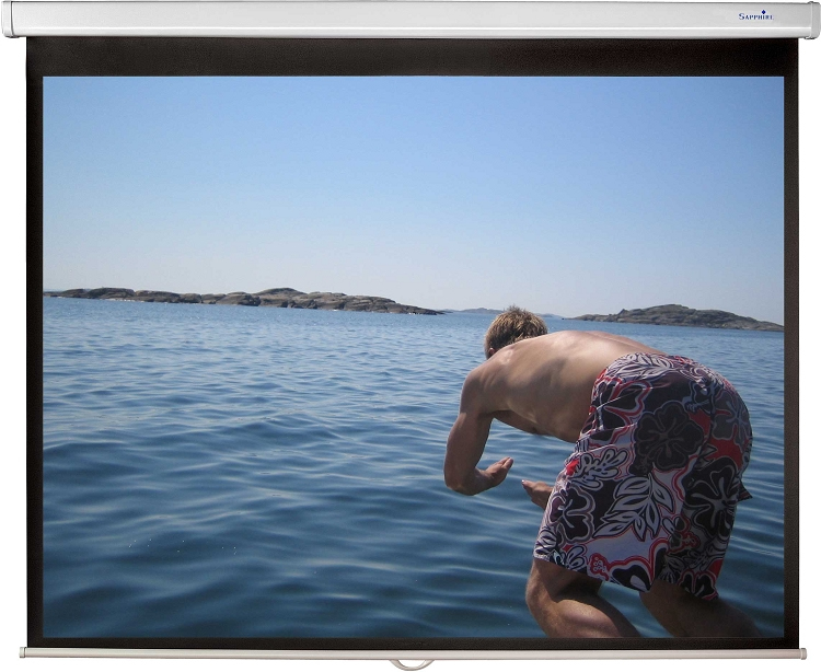 """Sapphire SWS270BV 133"""" 4:3 projection screen"""