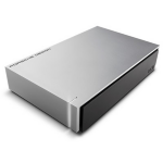 LaCie Porsche Design Desktop Drive Micro-USB B 3.0 (3.1 Gen 1) 8000GB Black,Grey