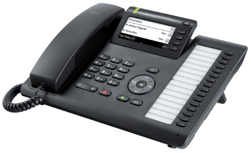 Unify OpenScape CP400 IP phone Black
