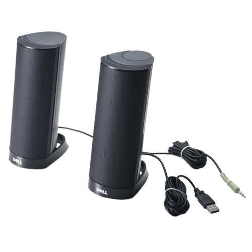 DELL AX210CR Black loudspeaker