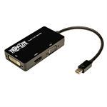 Tripp Lite Keyspan Mini Displayport to VGA/DVI/HDMI All-in-One Adapter/Converter, 6-in.