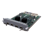 Hewlett Packard Enterprise 5800 4-port 10GbE SFP+ Module 10 Gigabit Ethernet,Fast Ethernet,Gigabit Ethernet network switch module