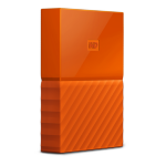 Western Digital My Passport 3000GB Orange external hard drive