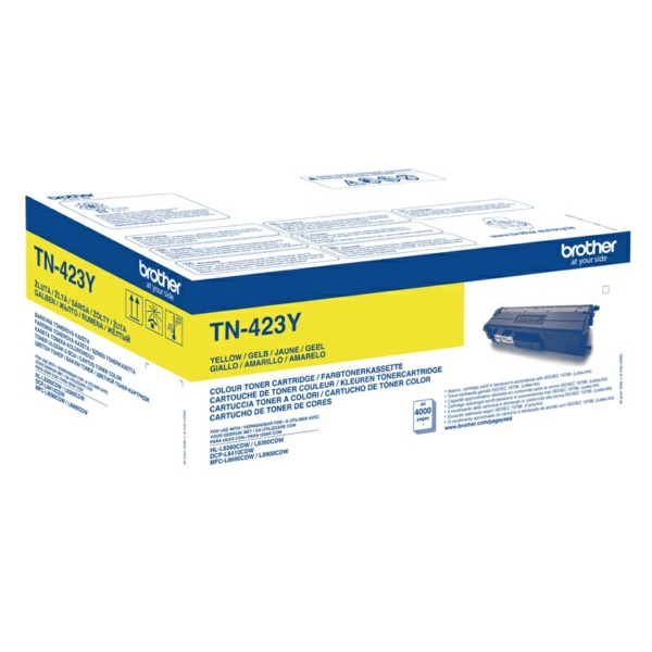 Brother TN-423Y Toner yellow, 4K pages
