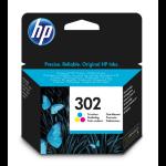 HP 302 Original Cyan,Magenta,Yellow 1 pc(s)