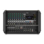 Yamaha EMX7 audio mixer 12 channels Black