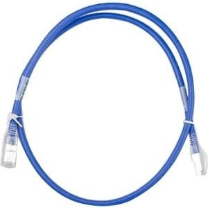 Supermicro Cat6a networking cable 0.9 m Blue