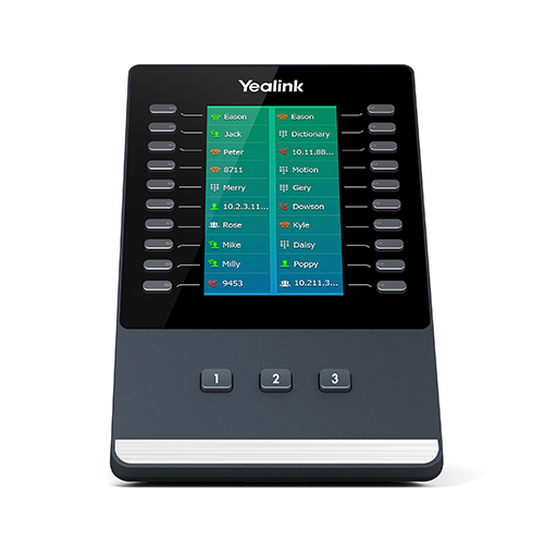 Yealink EXP50 23buttons Black, Grey IP add-on module