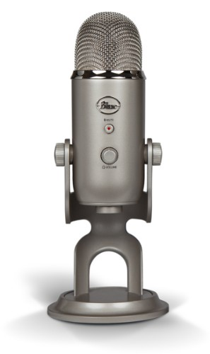 Blue Microphones Yeti Notebook microphone Wired Platinum