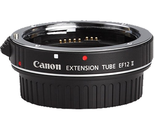 Canon EF 12 II camera lens adapter