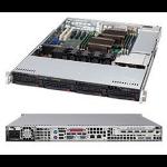 Supermicro 815TQ-563CB Intel® C602 LGA 2011 (Socket R)
