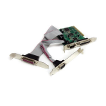 StarTech.com 2S2P PCI Serial Parallel Combo Card with 16C1050 UART