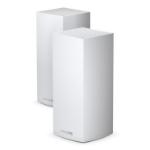 Linksys MX10600-EU draadloze router Gigabit Ethernet Tri-band (2.4 GHz / 5 GHz / 5 GHz) Zwart, Wit