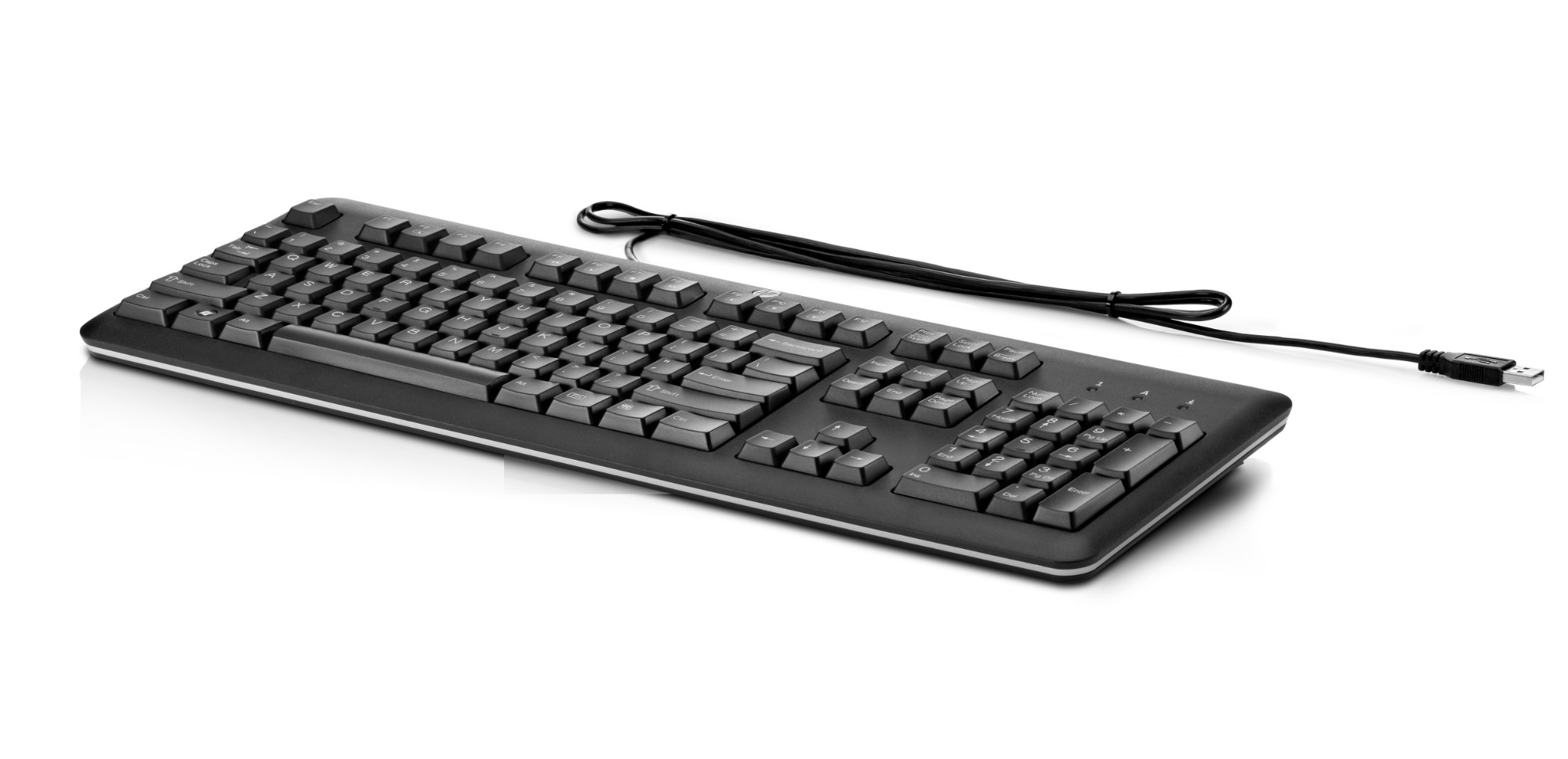 HP QY776AT keyboard USB Black