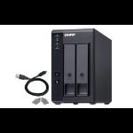 QNAP TR-002 4TB 2x2TB Seagate IronWolf 2 Bay DAS Desktop