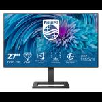 "Philips E Line 275E2FAE/00 computer monitor 68.6 cm (27"") 2560 x 1440 pixels 4K Ultra HD LED Black"