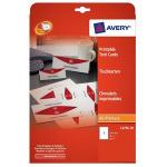 Avery L4796-20 non-metallic nameplate