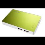 Antec Powerup Slim 2200 power bank Green Lithium-Ion (Li-Ion) 2200 mAh