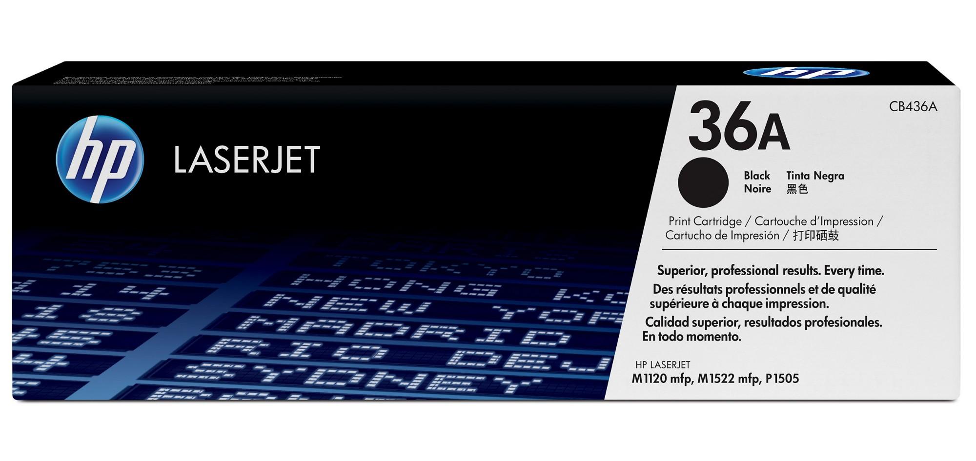 HP 36A Origineel Zwart 1 stuk(s)
