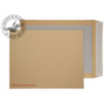 Blake Purely Packaging Manilla Peel and Seal Board Back 394x318mm (Pack 100)