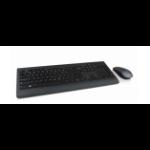 Lenovo 4X30H56825 Tastatur RF Wireless Französisch, Deutsch Schwarz