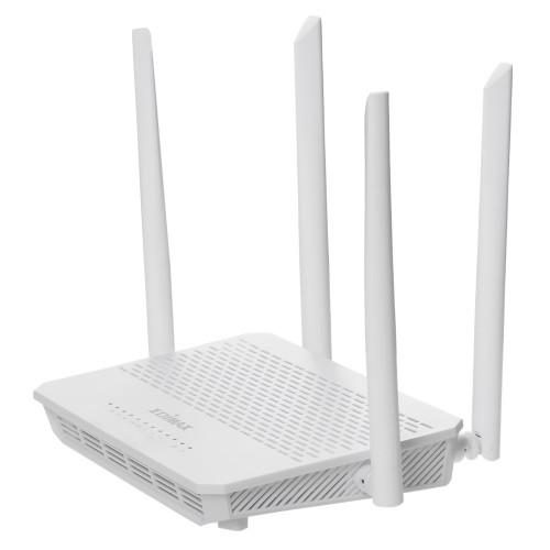 Edimax BR-6478AC V3 wireless router Dual-band (2.4 GHz / 5 GHz) Gigabit Ethernet White