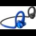 Plantronics BackBeat Fit 2100 auriculares para móvil Binaural Dentro de oído, Banda para cuello Azul