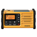 Sangean MMR-88 Portable Digital Black,Yellow Clock/Portable Radio