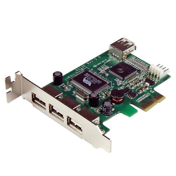 Pci-e High Speed USB Card 4 Port  Low Profile
