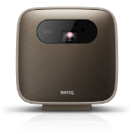 Benq GS2 data projector 500 ANSI lumens DLP 1080p (1920x1080) Portable projector Brown, Gray