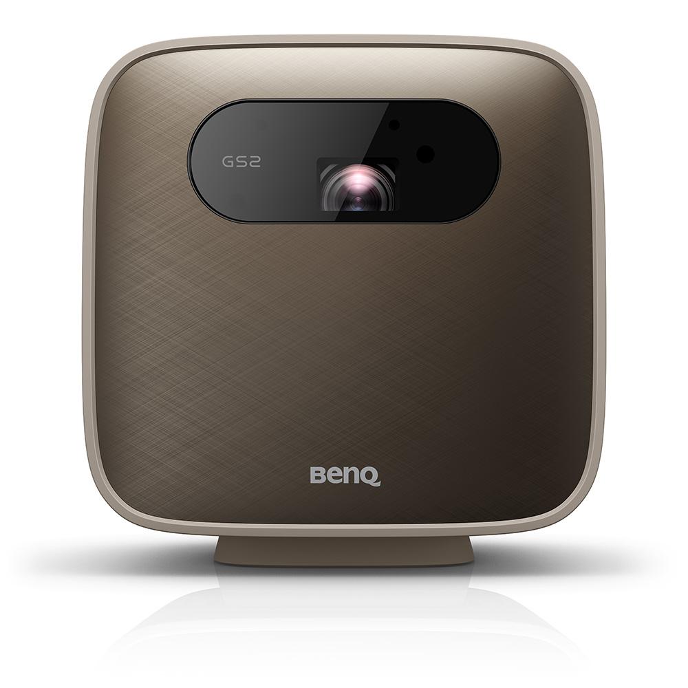 Benq GS2 data projector 500 ANSI lumens DLP 1080p (1920x1080) Portable projector Brown, Grey