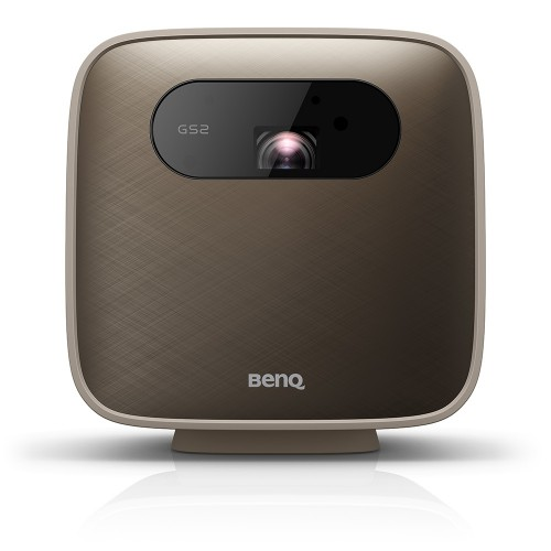 Benq GS2 data projector 500 ANSI lumens DLP 1080p (1920x1080) Portable projector Brown, Grey