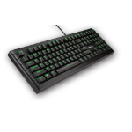 ASUS Sagaris GK1100 USB UK English Black keyboard
