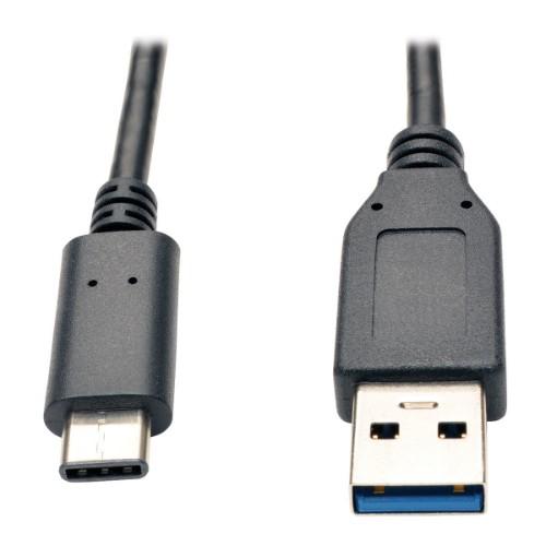 Tripp Lite USB 3.1 Gen 2 (10 Gbps) Cable, USB Type-C (USB-C) to USB-A (M/M), 0.91 m