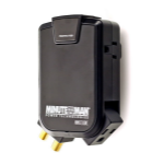 Minute Man MMS130RC surge protector 3 AC outlet(s) 120 V Black